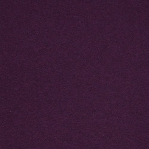 Heather Royal Purple Solid Cotton Spandex Knit Fabric A