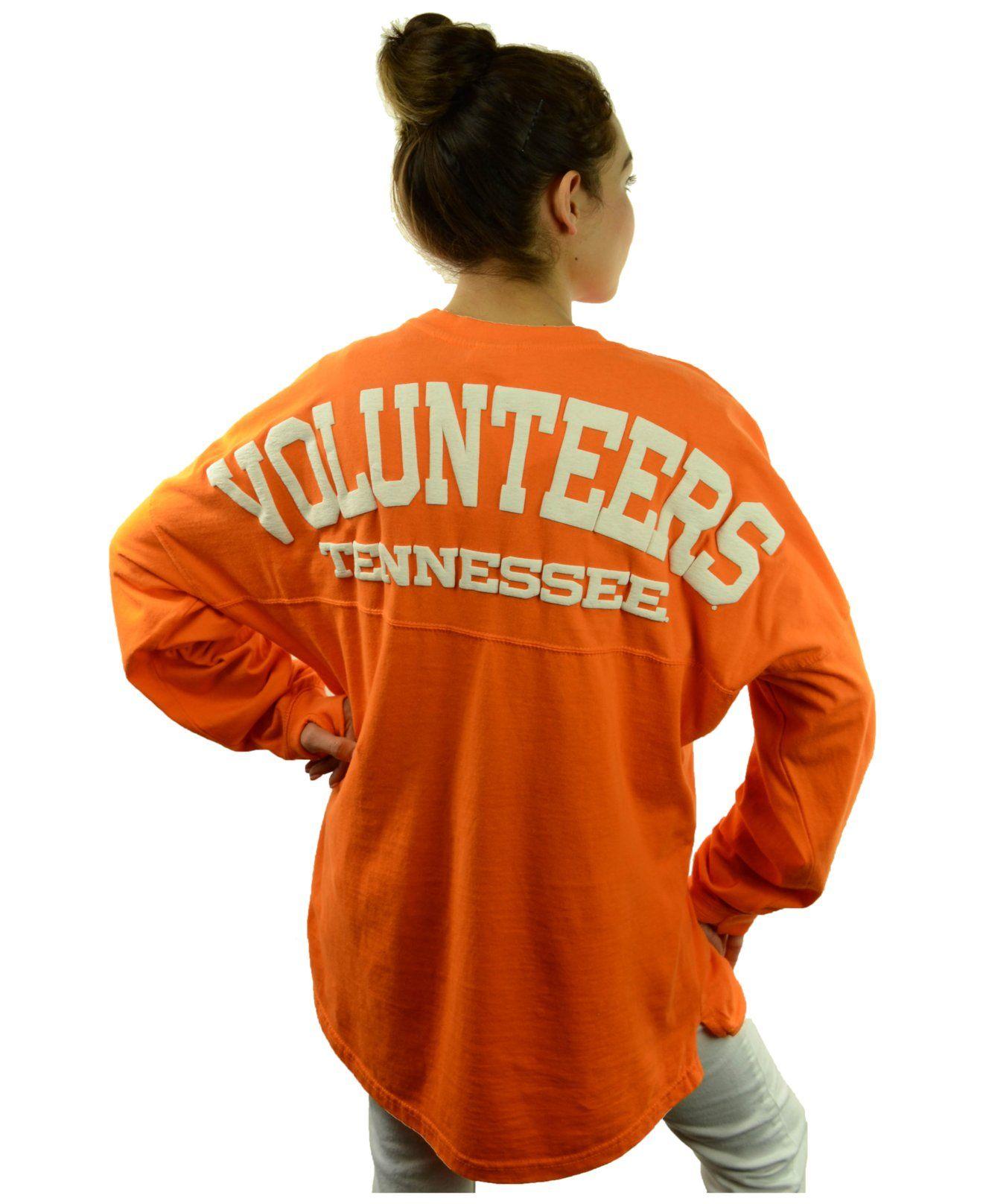 Royce Apparel Inc Women s Long Sleeve Tennessee Volunteers Sweeper T
