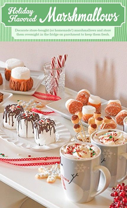 Holiday-Flavored Marshmallows! #flavoredmarshmallows Holiday-Flavored Marshmallows! #flavoredmarshmallows