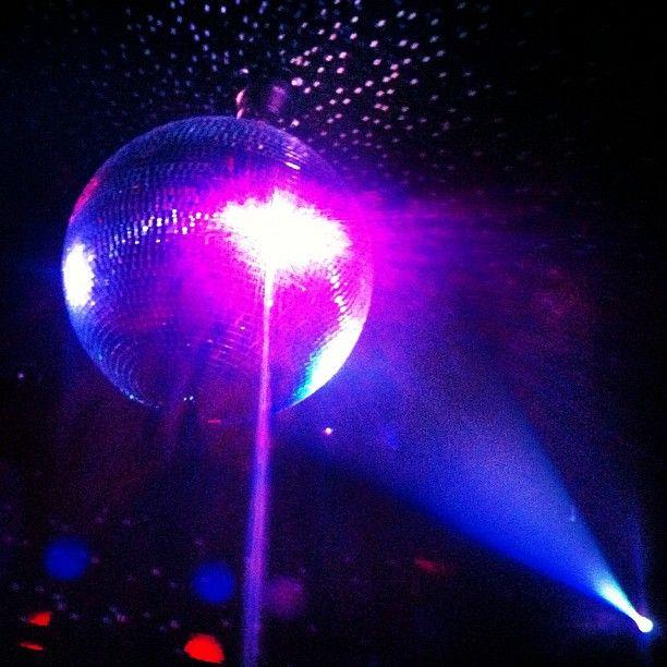 Disco Ball lit
