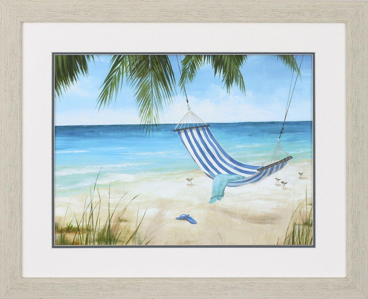 Soft Breeze Framed Painting Print