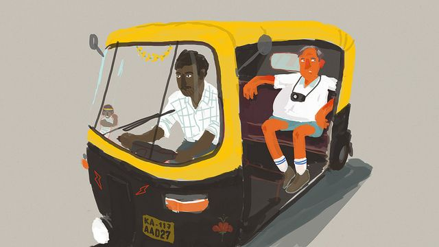 For Hire Bangalore Rickshaw Whimsy Bangalore Hiring