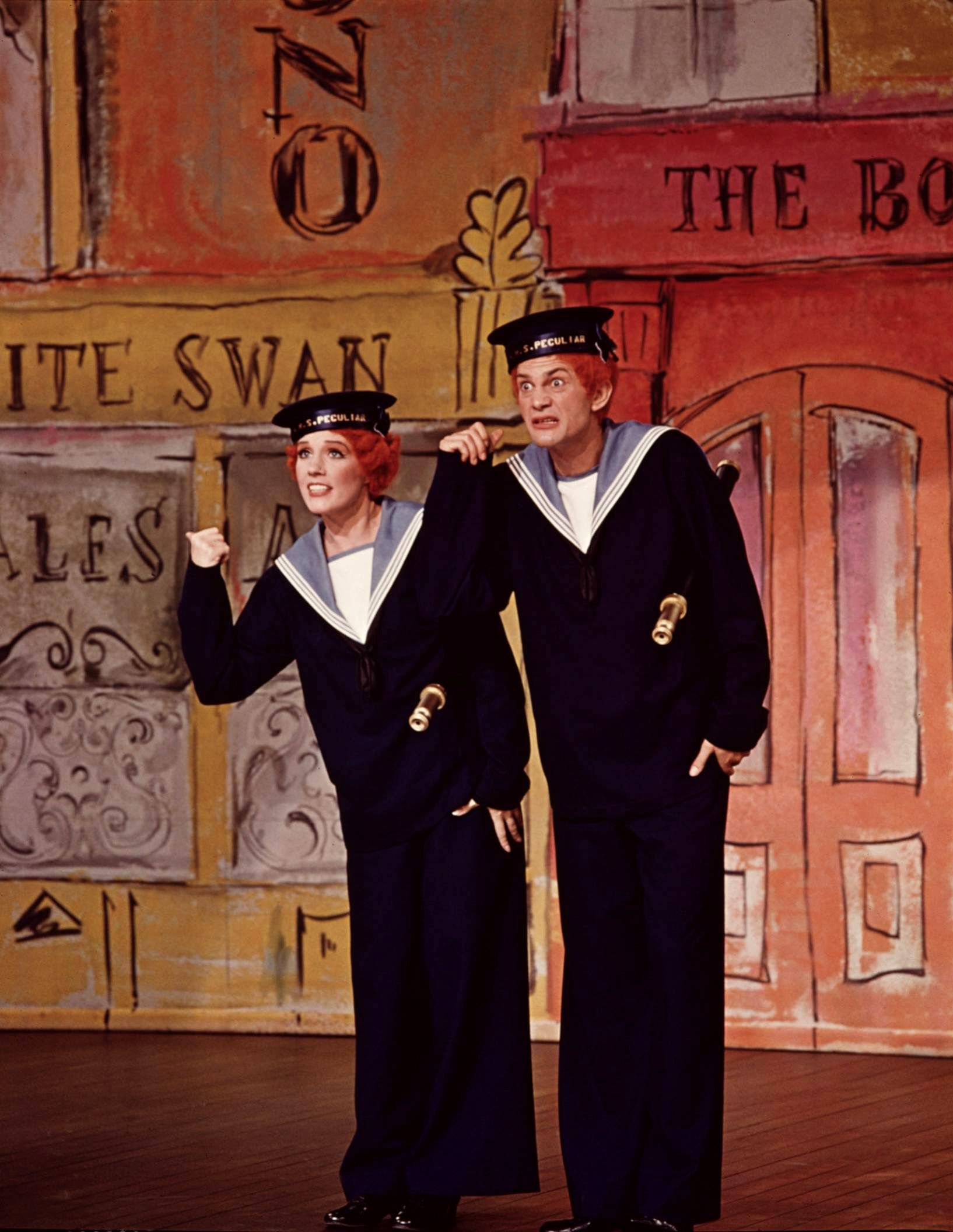 Julie Andrews with Daniel Massey