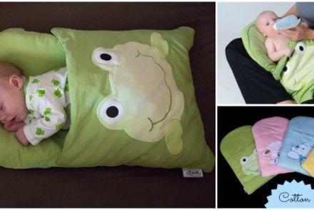 Cozy Diy Baby Pillowcase Sleeping Bag Pattern Tutorial Sleeping Bag Pattern Baby Pillow Case Diy Sleeping Bag