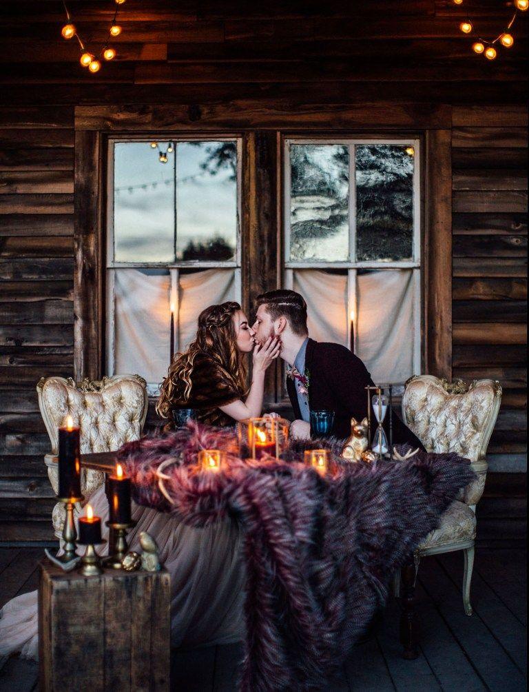 Photo of Inspiración rústica de invierno Elopement en Terrain | Zapatos de boda verdes
