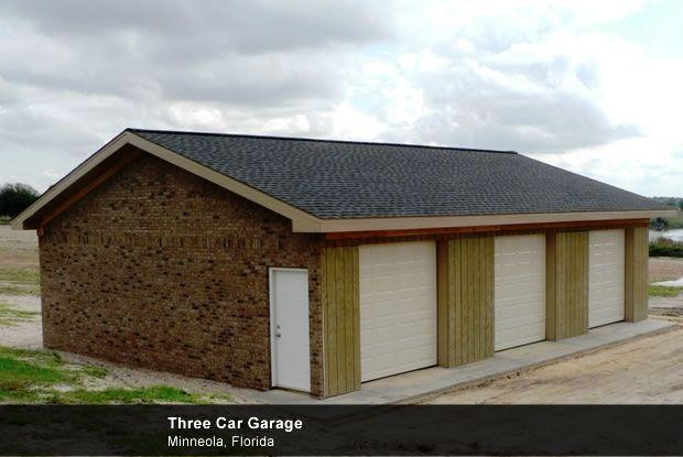 Build a 3 Car Garage | Timbercraft Metal Garage Buildings at
