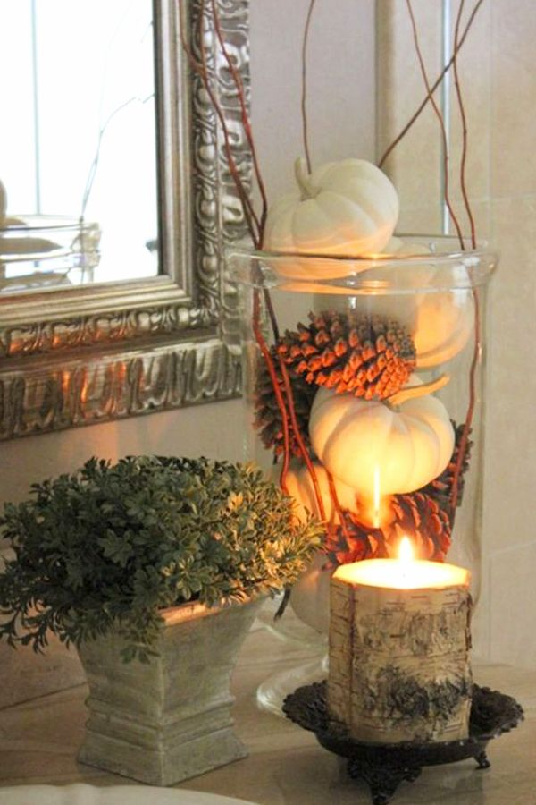 Photo of Fall Bathroom Decor! 10 Fall & Autumn Bathroom Decorating Ideas We Love