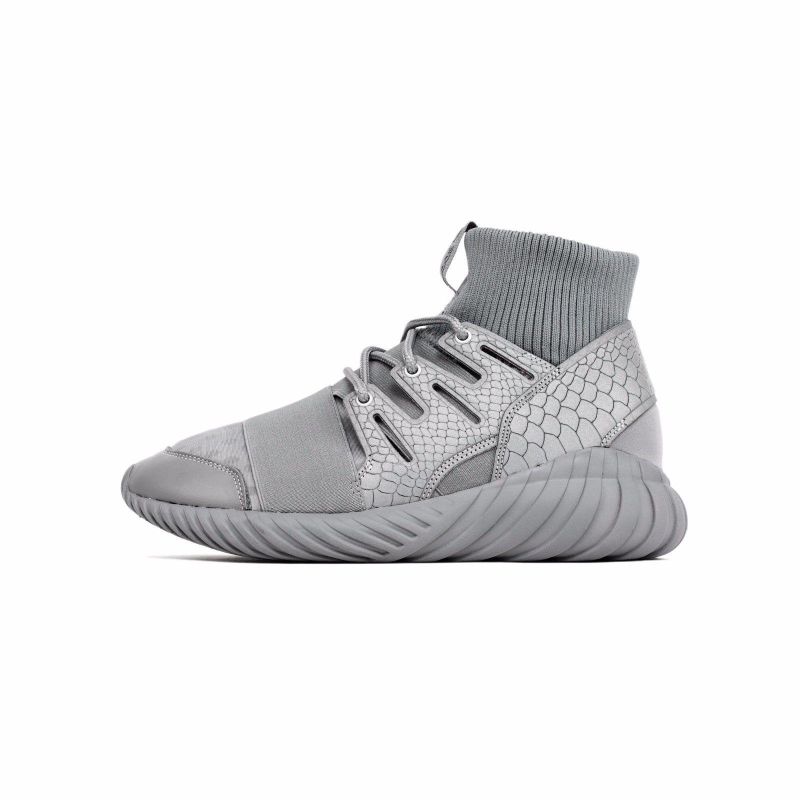 18c32a36abecb NEW Adidas Tubular Runner Doom Grey Fashion Week 3m Reflective Scale S74791  S 13