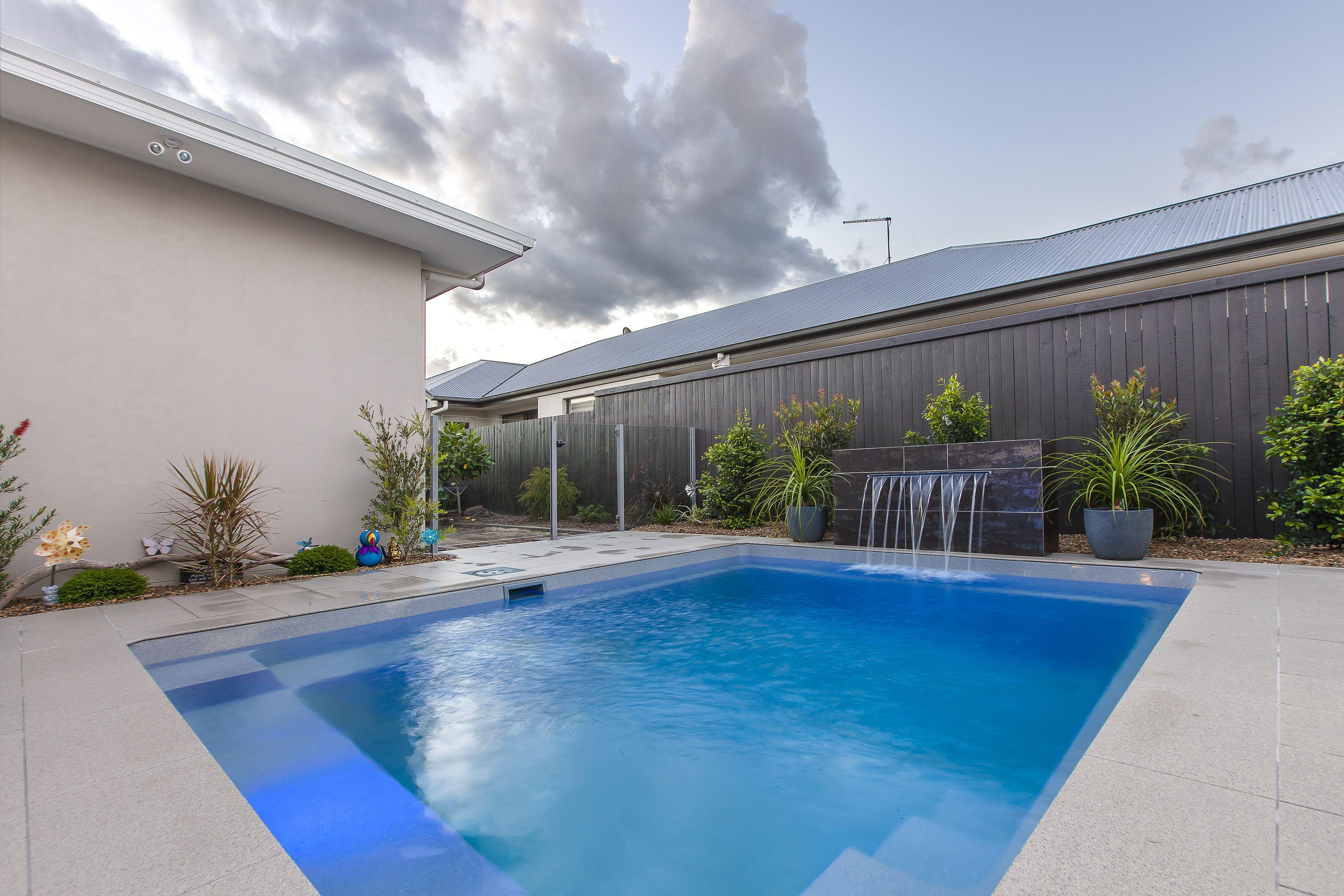 Narellan Pools Eden Pool In Grey Quartz #Narellanpoolsinspiration