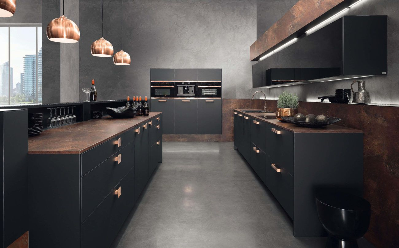 Küchentrends 2017: Aktuelle Designs und Farben für die Küchenplanung ...