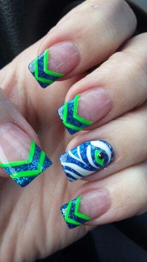 Seahawks Nails Galleria Nail Spa in Bothell, WA