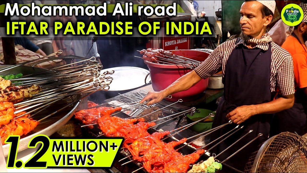 IFTAR Paradise of India ~Mumbai's Mohammad Ali road Ramadan Special Eat-Street ~ Indian Street Food
