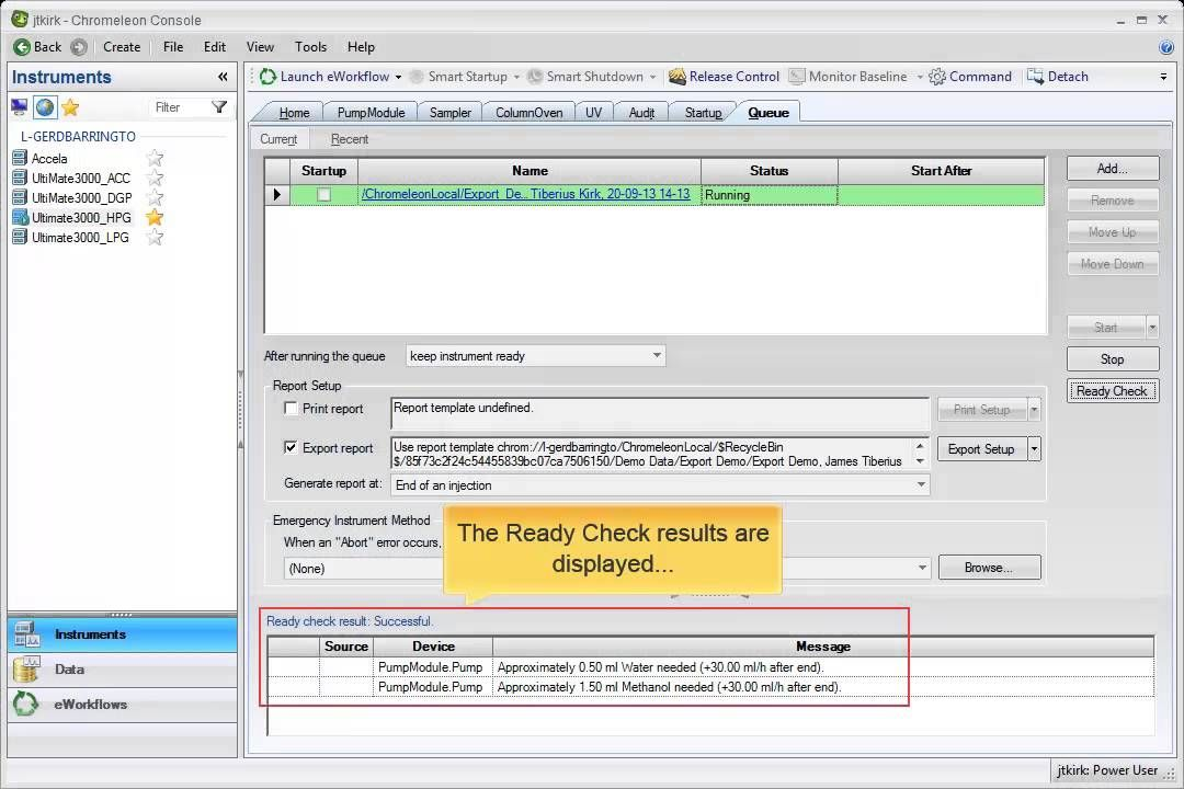 Chromeleon Chromatography Data System Automatic Report Export and - it audit report template