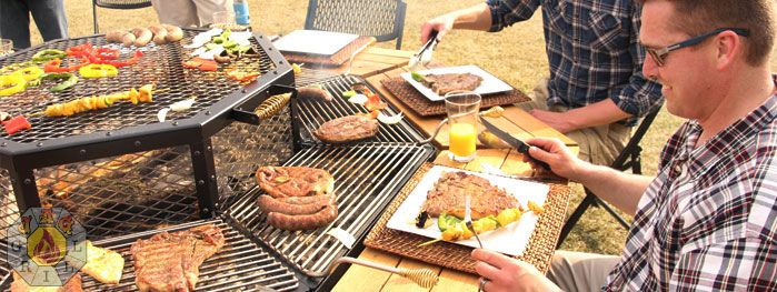 Purchase Luxury Grill, FirePit, Grill, BBQ, Table, FirePit Grill, FirePit
