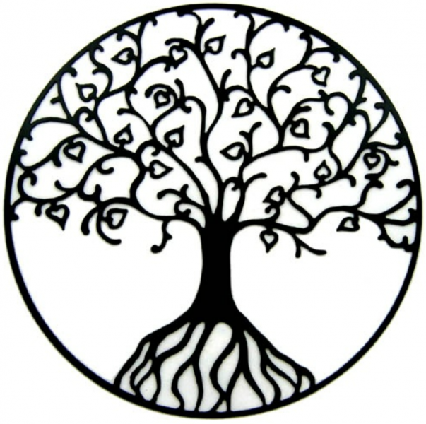 Tattoo design contest: I would like an original version of a tree of life tatoo drawing symbol, I have attached some of the styles i like.  i would reall...