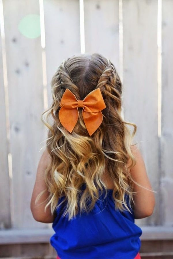 10 Simple and Easy Girl Toddler Hairstyle #girlhairstyles