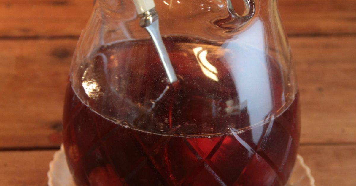 Receta de Vino especiado invernal