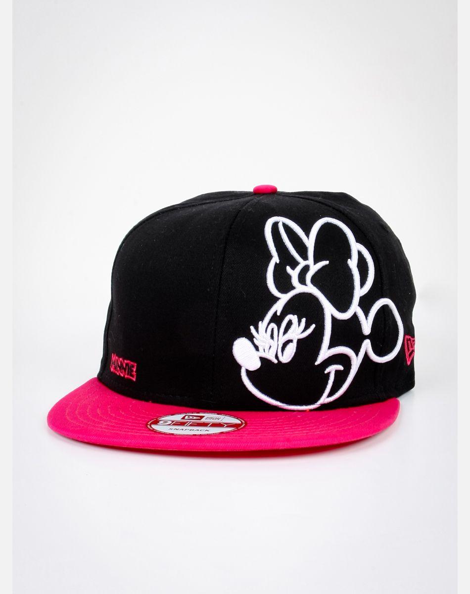 c33e8a6618075 Neon Minnie Mouse Snapback Hat Gorra Personalizadas