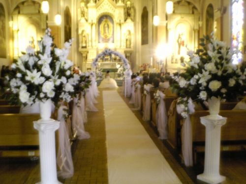 photo gallery quinceanera church decorations