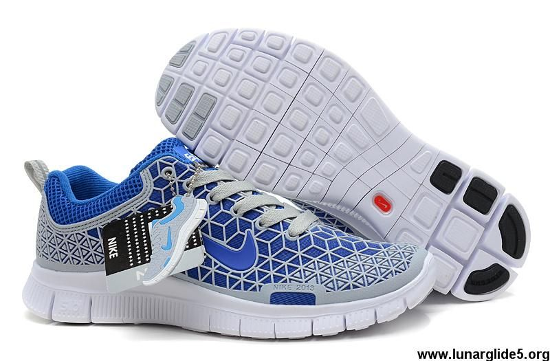 Best Gift Nike Free 6 0 Soft Grey Royal Blue White Mens Your Best Choice