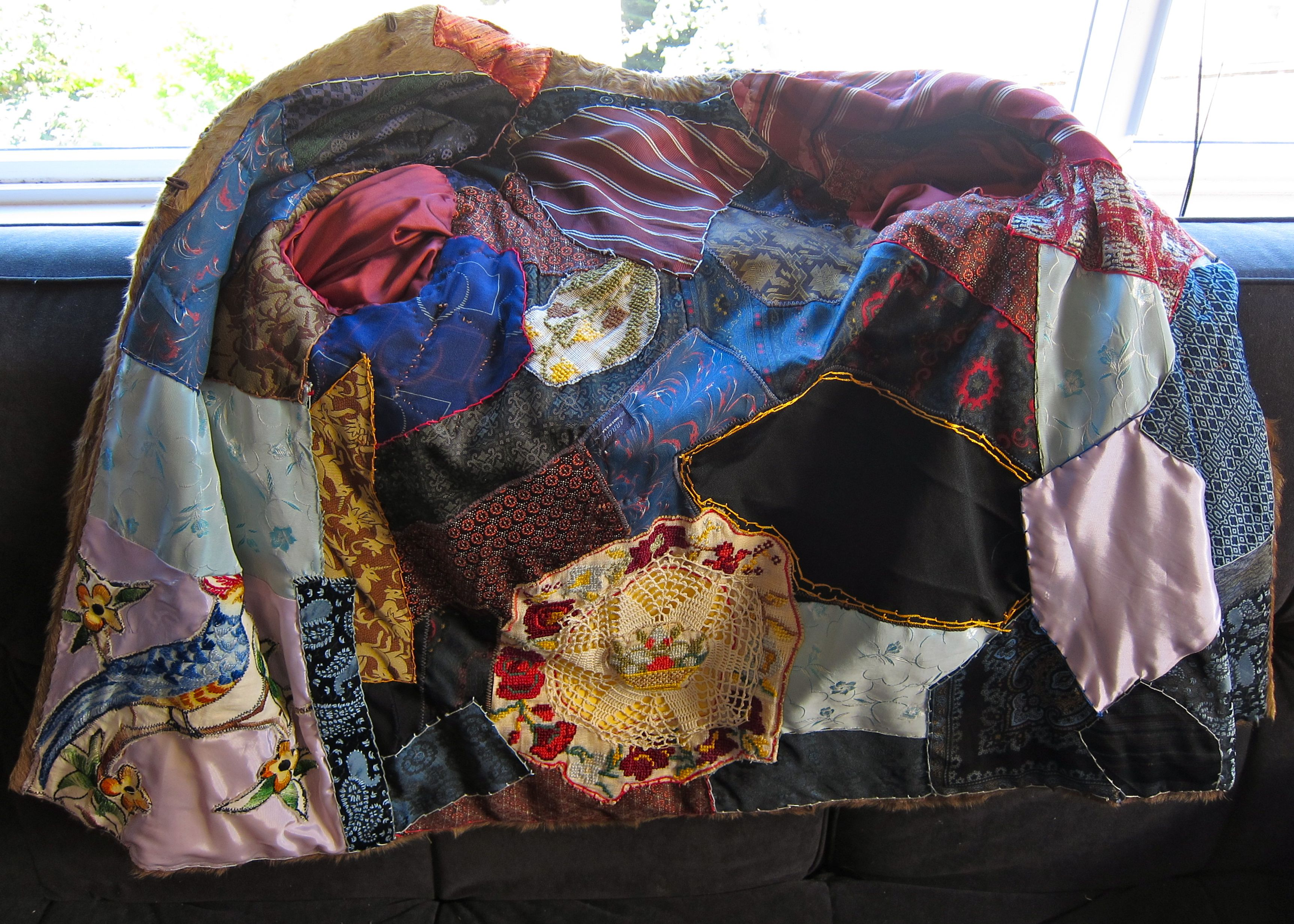 The Amazing Lining Side of the Janis Joplin Jacket