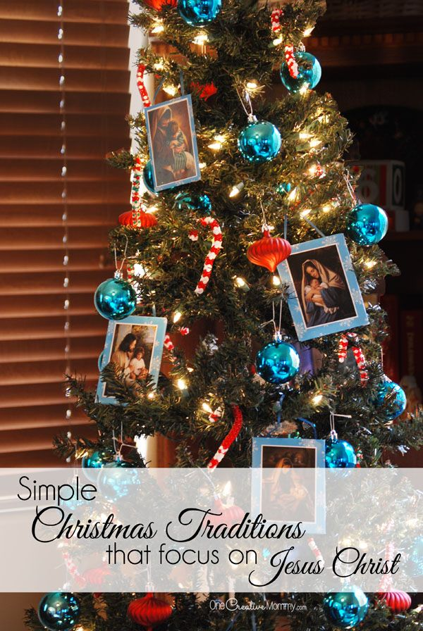 with christmas becoming increasingly commercialized here are some simple christmas traditions that focus on jesus christ onecreativemommycom keep christ - When Did Christmas Become A Holiday