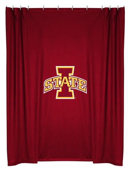 Iowa State Isu Cyclones Ncaa Bathroom Shower Curtain Iowa State Cyclones Iowa State Iowa State University