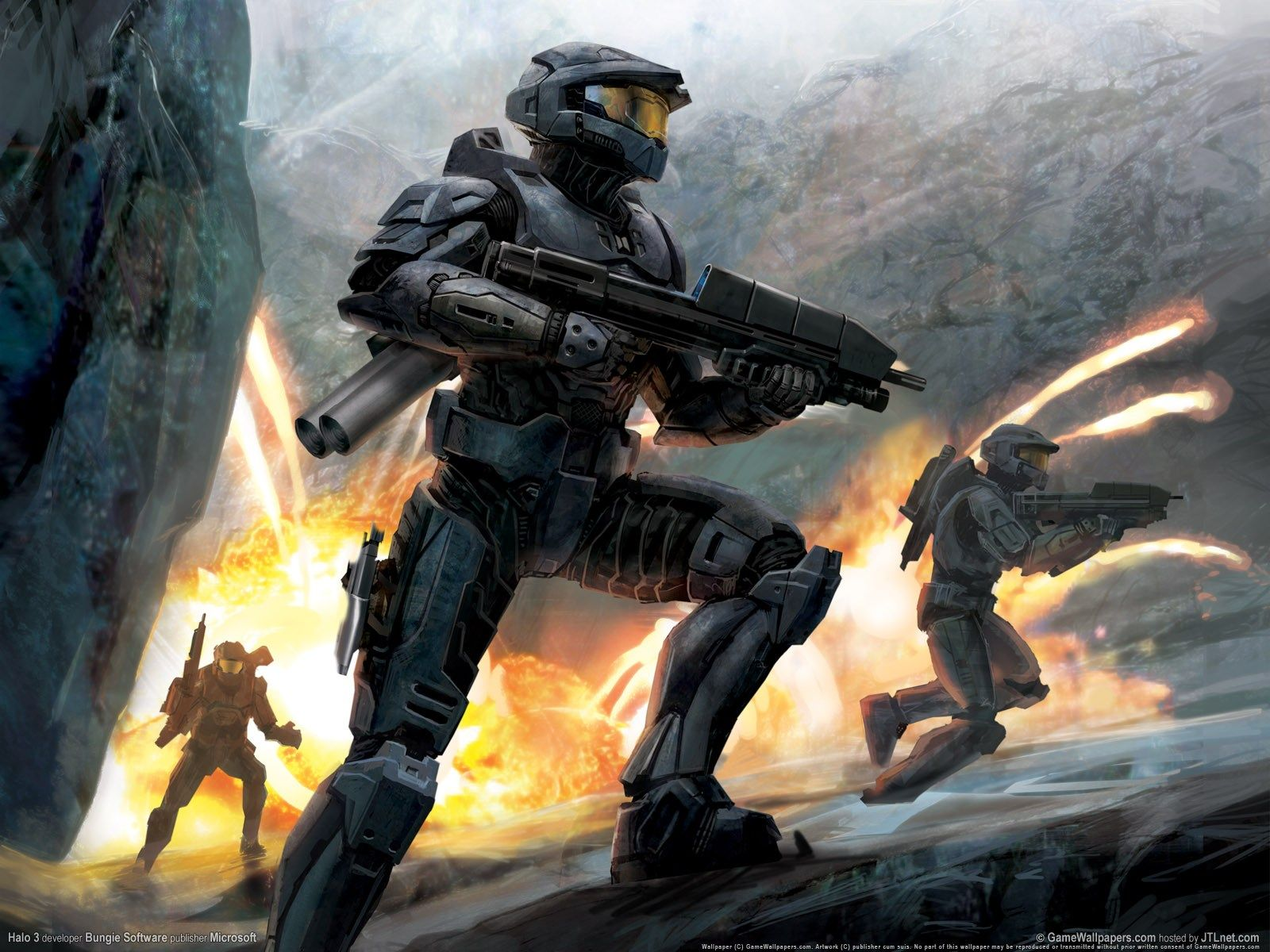 Small Dump Of Wallpapers I Ve Found Over The Years Halo Spartan Halo Game Halo 3