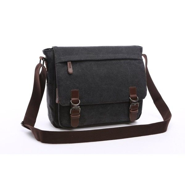 Mestart Messenger Bag School Bag Business Briefcase Shoulder Bag ... 324a95951dd12