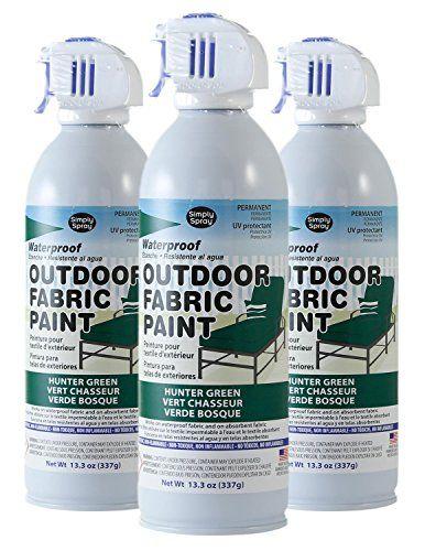 Simply Spray Outdoor Waterproof Fabric Spray Paint 13.3 O...