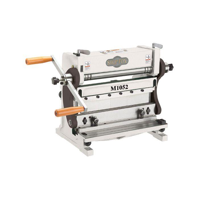 Shop Fox 3 In 1 Combination Sheet Metal Machine 12in Model M1052 In 2020 Metal Working Tools Steel Sheet Metal Sheet Metal
