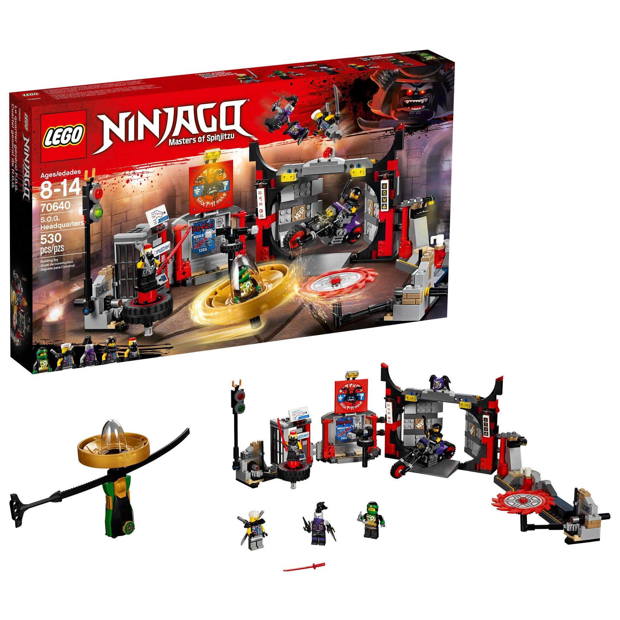 Lego Lloyd Box Afflink Alarm Rare New Ninjago Zx Clock In 4RA5jL