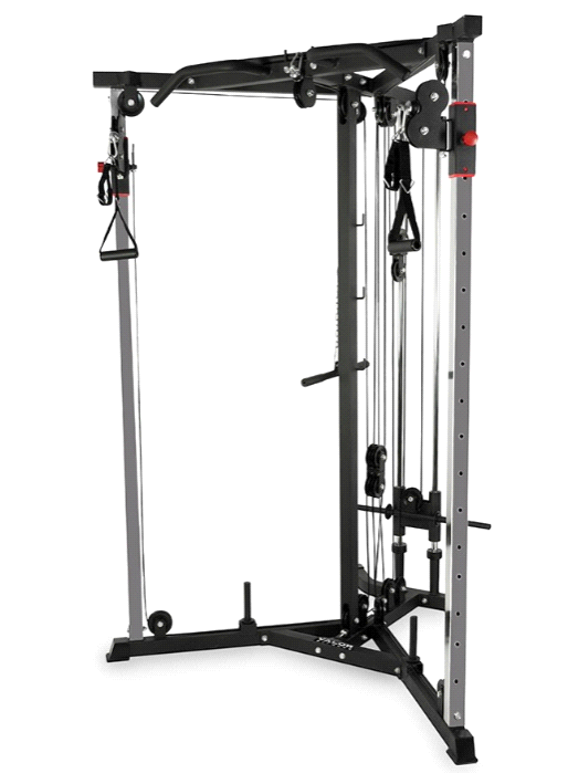 Valor Fitness Bd 61 Heavy Duty Cable Crossover Station No Equipment Workout Cable Workout At Home Gym
