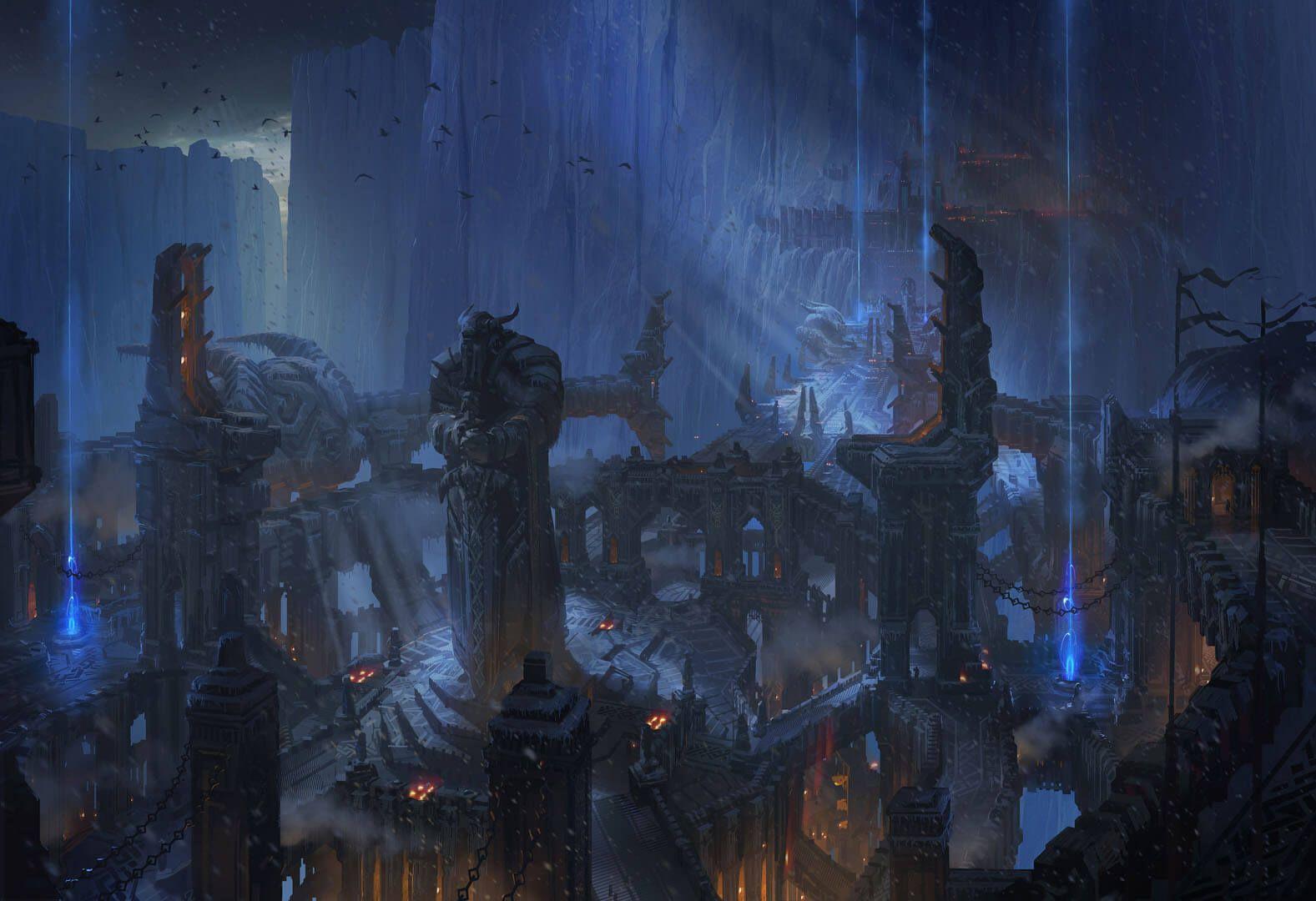 Map of Runeterra - Universe - League of Legends | Art | League of ...