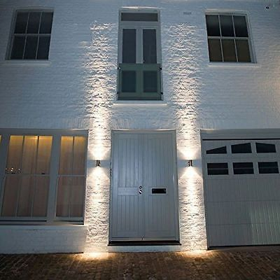 Modern Wall Light Up Down Led Sconce Lighting Lamp Outdoor Waterproof Fixture Bd Modern Outdoor Lighting Front Door Lighting Outdoor Light Fixtures