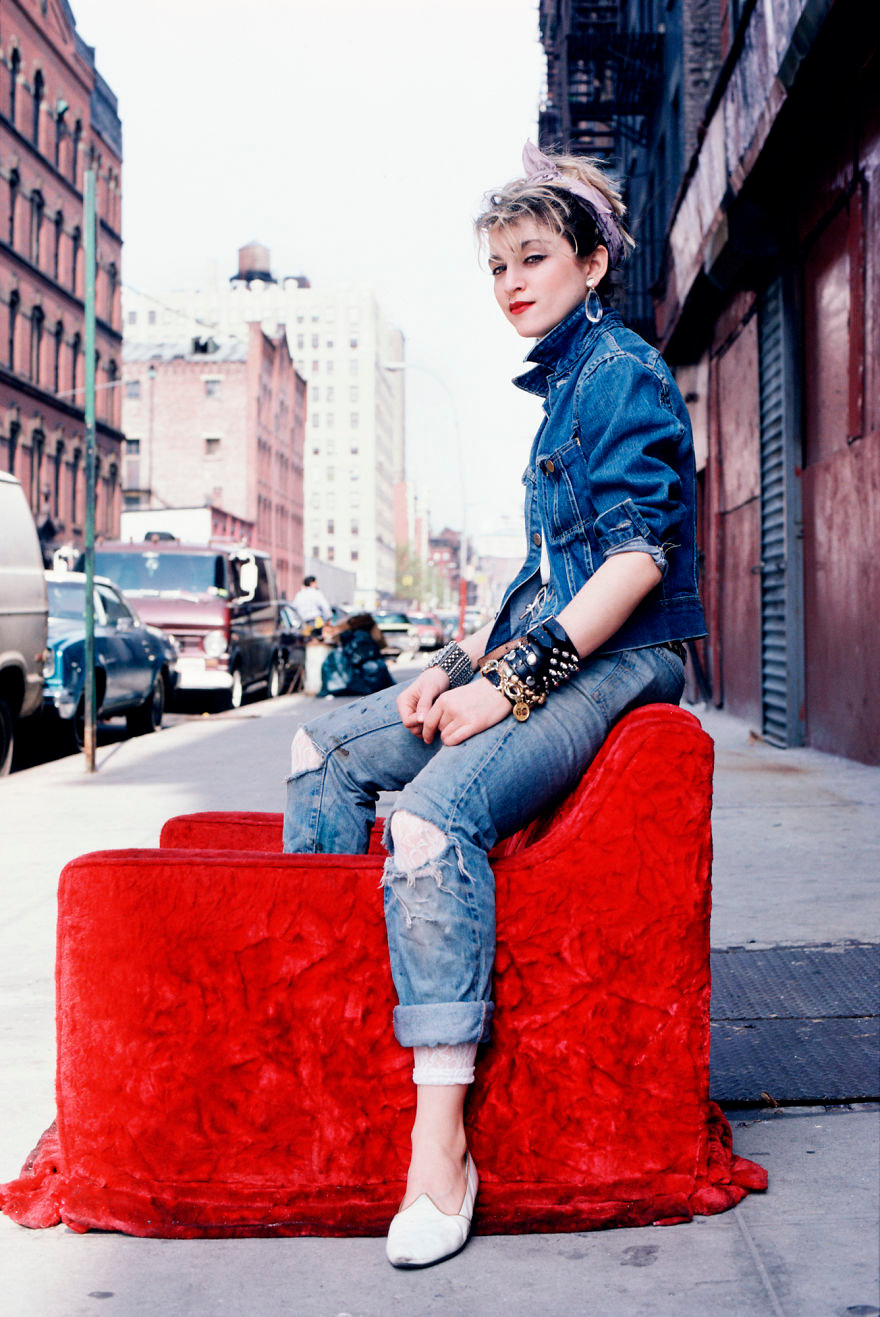 Photographer Shows Madonna Before Her Fame In 1983 (29 Pics)