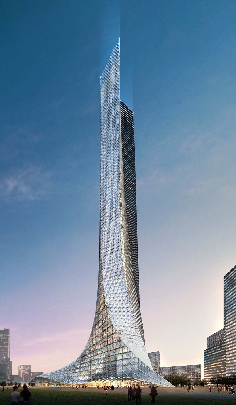 Nanjing Sunning Tower by Aedes Architects