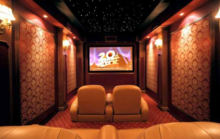 Home Theatre Interior Design Model Magnificent Theatre Room At My House But Will Make It More Simpler And Darker . Decorating Inspiration