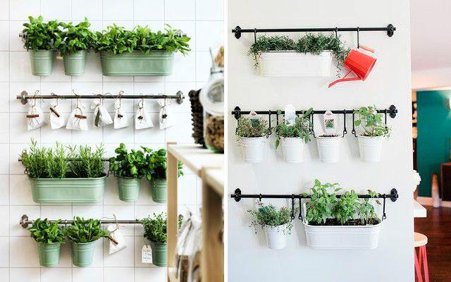 Ideas originales para decorar la cocina con plantas - Ideas para decorar cocinas ...