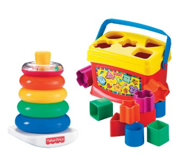 Save Half on This Fisher Price Stacking and Sorting Bundle!!! | KouponingWithKatie