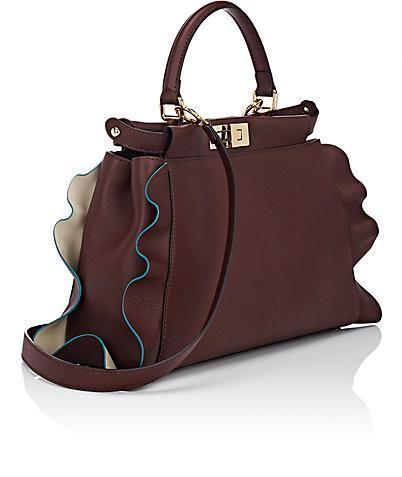 6208e06e449b Fendi Wave Peekaboo Mini Bag