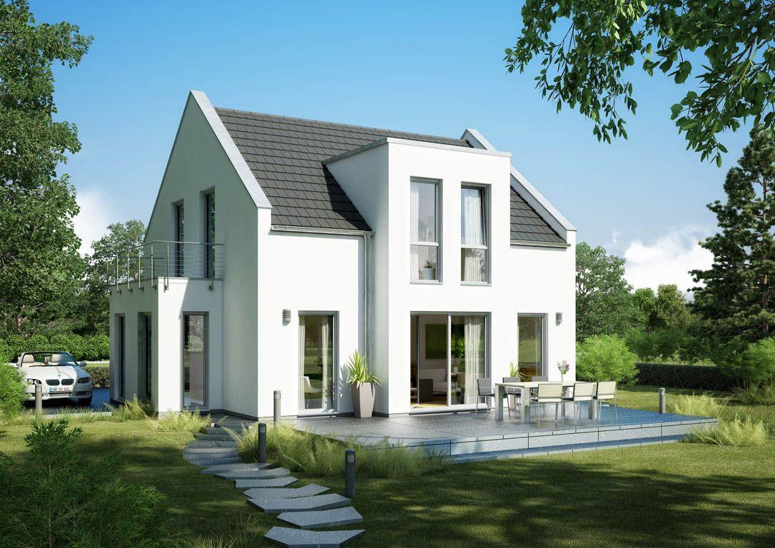 Moderne häuser satteldach  Ein neuer Hausentwurf von Kern-Haus aus der Serie der ...