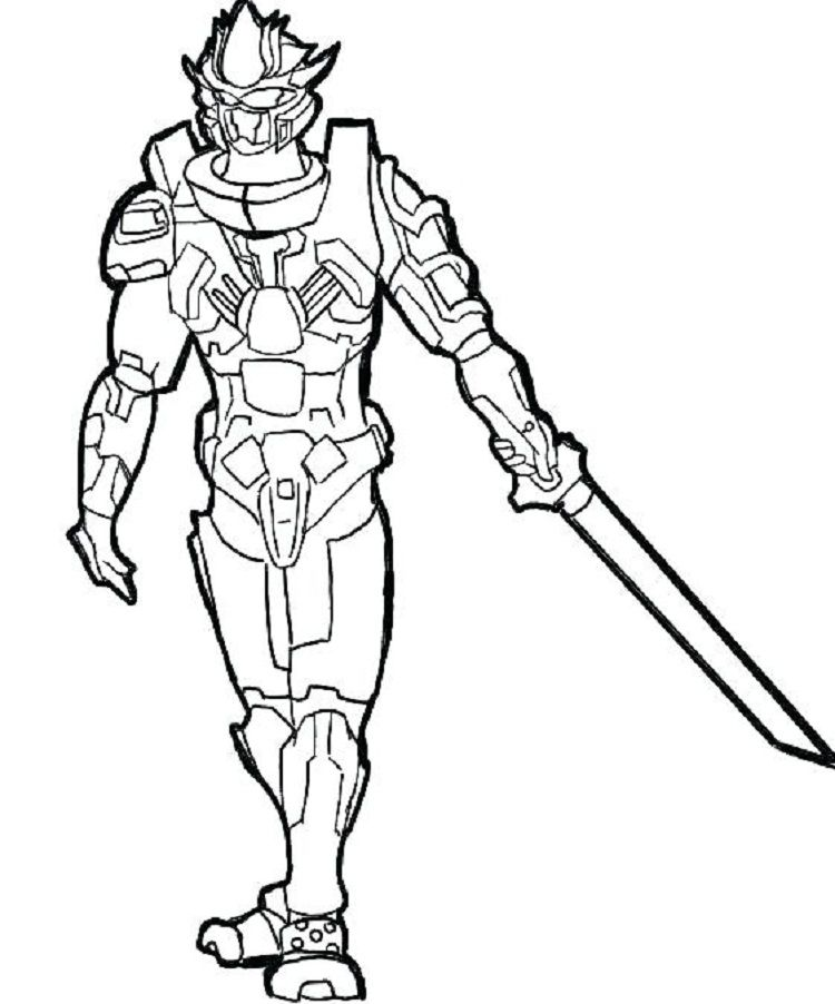 robot ninja coloring pages | Coloring Pages For Kids | Coloring ...