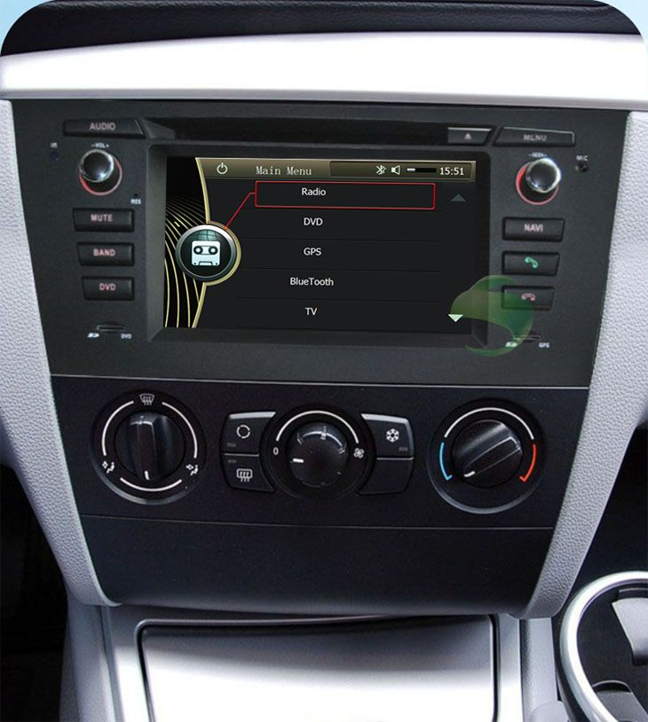 car stereo update for bmw 1 series e81 e82 e88 car dvd player rh pinterest com BMW 1 Series Convertible bmw 1 series business radio manual