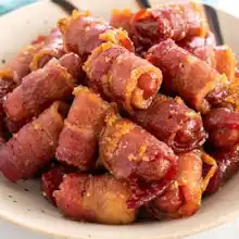 Bacon Wrapped Little Smokies Recipe | Yummly