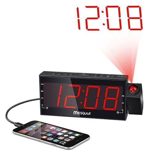 Alarm Clock Projection, Best Alarm Clock Radio For Bedroom
