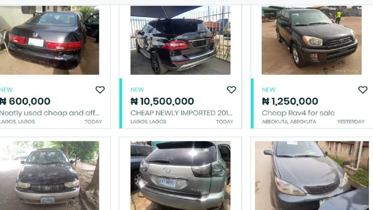 How and where to buy cheap cars in Nigeria Cheap cars
