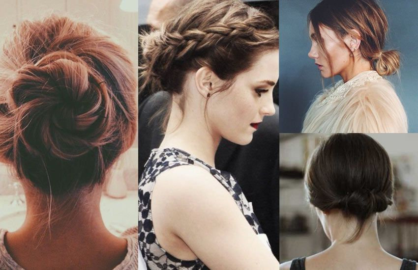How to Make a Bun with Short Hair: 11 Super Easy Short ...