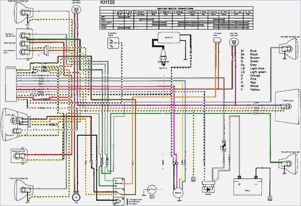 Wiring Diagram Of Motorcycle Honda