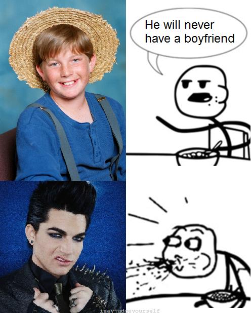 Wowza Adam Lambert!